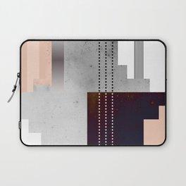 Speckled Polygon Dot Stripe Laptop Sleeve