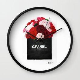 Blooming Roses  Wall Clock
