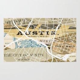 Austin map Rug