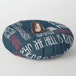 The Winter Soldier Floor Pillow