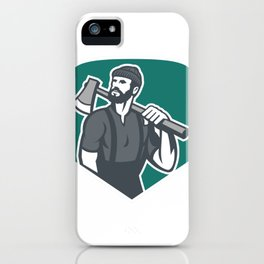 Chainsaw Once You Lumber Jack You Don't Lumber iPhone Case