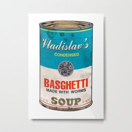What We Do In the Shadows: Do You Like Basghetti? Metal Print