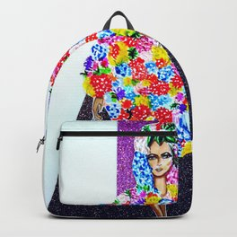 Romance On The Runway - Full Length Backpack