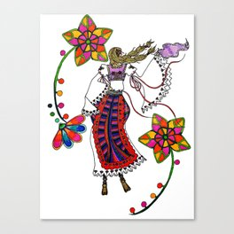 Kolo Dancer Canvas Print