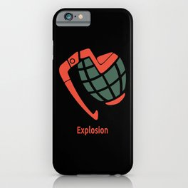 Explosion iPhone Case