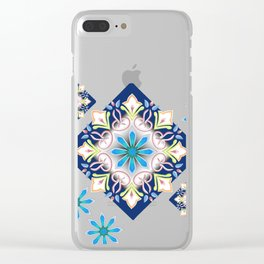 Singing Flowers Clear iPhone Case