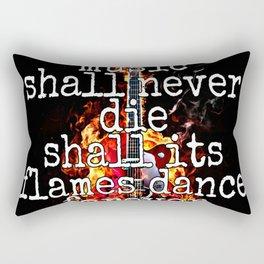 Music Lives On Rectangular Pillow