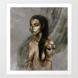The Nameless III.  Art Print