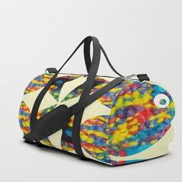 Catching Fish Duffle Bag