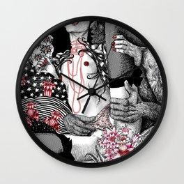Mad Love Paradiso_Pastel Wall Clock