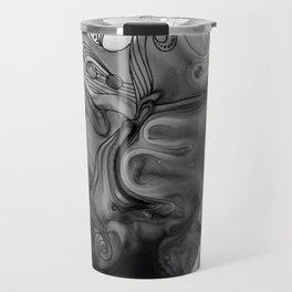 Alternate Universe Octopus Half Travel Mug