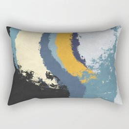 Waves - No Obstacle Rectangular Pillow