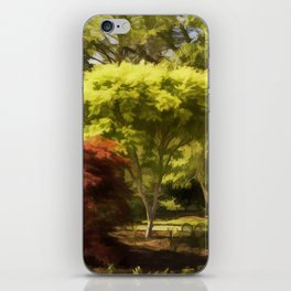 A Walk In The Woods Painting iPhone Skin