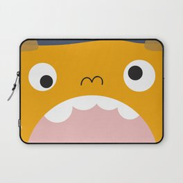 yellow monster Laptop Sleeve