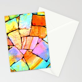 Sandstone wall Deacon PE Stationery Cards