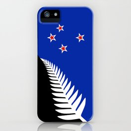 NZ flag (that nearly made it) 2016 iPhone Case