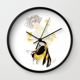 Trepidation Wall Clock