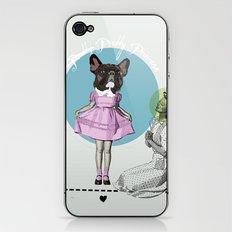 Pretty Chauncey Princess - French Bulldog iPhone & iPod Skin