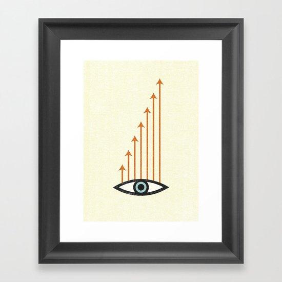 I Like What I See. Framed Art Print