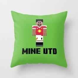 Mine United Throw Pillow