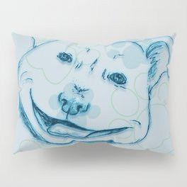 Happy PitBull Pillow Sham