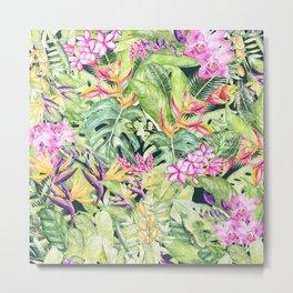 Tropical Garden 1 #society6 Metal Print