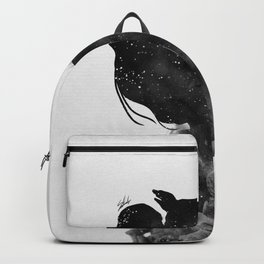 Heaven is just me and you. Backpack