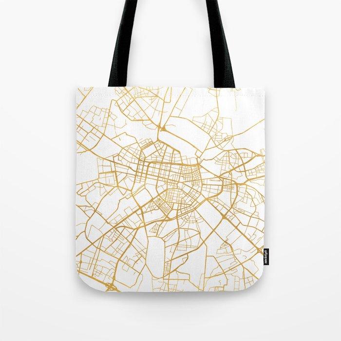 b7947b826e SOFIA BULGARIA CITY STREET MAP ART Tote Bag by deificusart