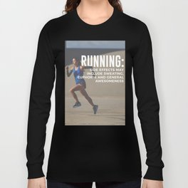 Runners High Running Is Awesome Long Sleeve T-shirt
