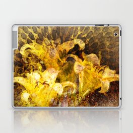 Yellow Flowers Laptop & iPad Skin