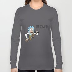 Rick and morty Get schwifty Long Sleeve T-shirt