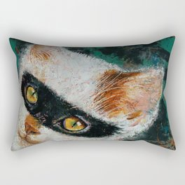 Cat Burglar Rectangular Pillow