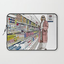Jeffrey Lebowski and Milk. Laptop Sleeve