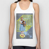 thrones Tank Tops featuring Yellow brick road by Laura Nadeszhda