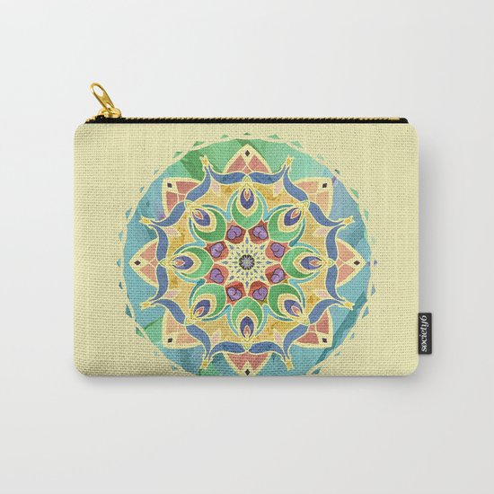Sand and Silk Mandala 2 Carry-All Pouch