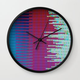 Twosome with white Wall Clock