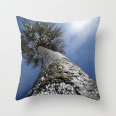 Reaching To The Sun Throw Pillow