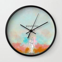 wandering mind. Wall Clock