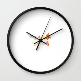 my youth is yours Wall Clock