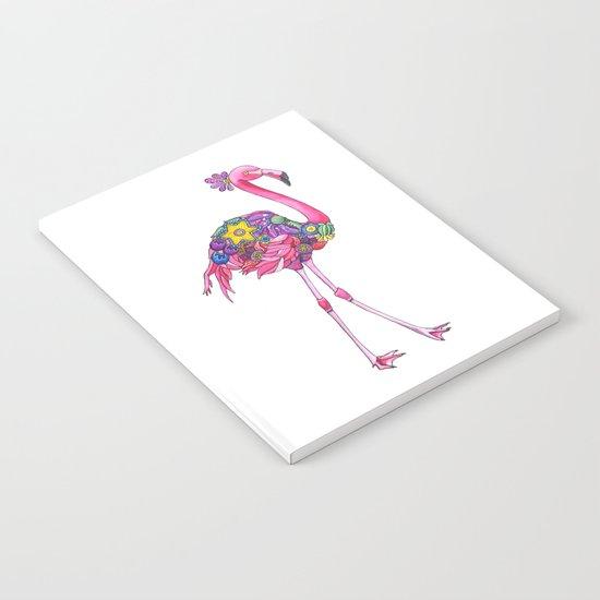 Fancy Felicity Flamingo Notebook