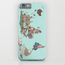 Louis Armstrong Told Us So (teal) iPhone Case