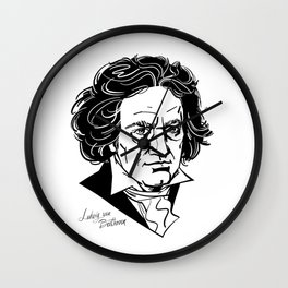 Ludwig van Beethoven Wall Clock