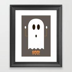 You Look Like You've Seen  A Ghost Framed Art Print