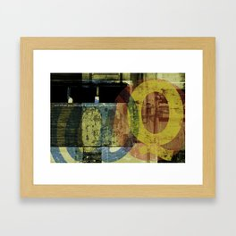 just when you thought... Framed Art Print