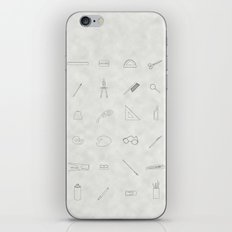 Drawing tools iPhone & iPod Skin