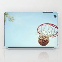 basketball iPad Cases featuring Basketball by KimberosePhotography