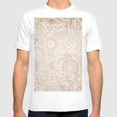 Sunny Cases X MEDIUM White Mens Fitted Tee
