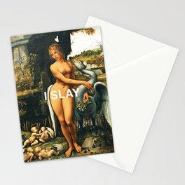 I Slay Stationery Cards