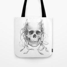 Medusa Skull Tote Bag