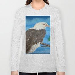 Painting stretcher acrylic eagle Long Sleeve T-shirt